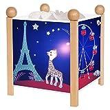 Trousselier–4365Go Lanterne Magique Sophie la Girafe 12V Paris Nuit Lampe