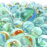 PhiLuMo 80 + 1 Glasmurmeln/Murmeln - Ø 16 & 25 mm groß - ideal für Murmel Boule