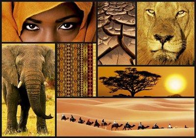 Puzzles Educa - Puzzle Colores De África, 1000 Piezas (16293)