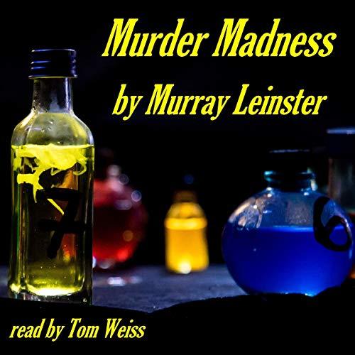 Murder Madness audiobook cover art