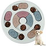 XYDZ Juguete de puzle para Perro,Rompecabezas Interactivo Duradero para Perros,Cuenco del Perro del Alimentador de la Diversión,Dispensador de Premios Interactivo,Training de Mascotas Mejora el IQ