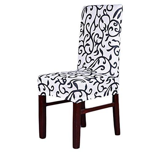 Hochzeitsessen Modische Strech Dining Chair Bezug waschbar Stuhl-Abdeckung für Hotel, Haus Dekoration