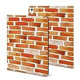 Étui pour iPad 2020 Air 4 (11') avec support pour crayon Motif mur de briques