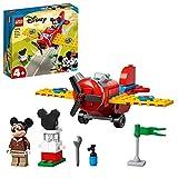 LEGO 10772 Disney L'Avion à hélice de Mickey Mouse Jouet 4 Ans et Plus, Avion pour Enfants