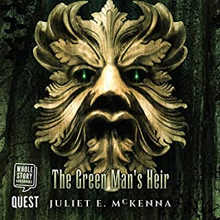 The Green Man's Heir audiobook cover art