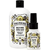 Poo Pourri 16-Ounce Refill Bottle and 1.4-Ounce bathroom air fresheners May, 2021