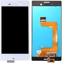 for Sony Xperia M4 Aqua E2303 E2333 E2353 Replacement LCD Screen + Touch Screen Digitizer Assembly (White)