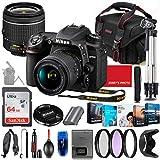 Nikon D7500 DSLR Camera with 18-55mm Lens Bundle + Premium Accessory Bundle...
