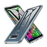 Hotbon Hülle kompatibel mit LG G8s ThinQ, TPU Stoßfeste schutzhülle Premium Silikon Handyhülle Ultra dünn Schutzhülle Flex Hülle kompatibel mit LG G8s ThinQ Handyhülle kompatibel,Transparent