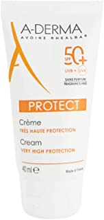 Aderma Protect Cream Very High Protection SPF 50+ Fragrance Free 40ml