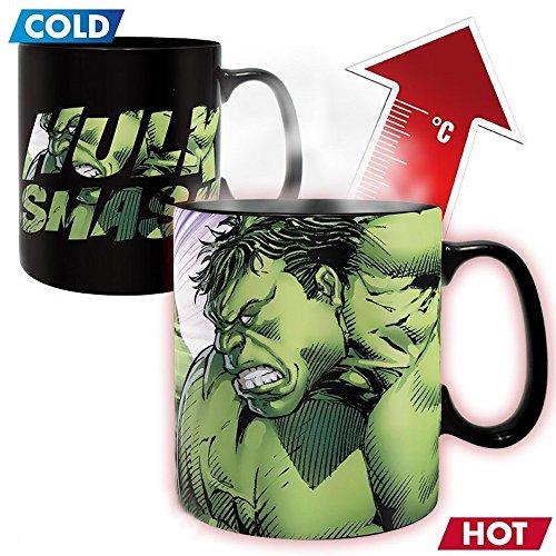 Hulk - Smash - XXL-Farbwechsel-Tasse | 460 ml | Marvel | Avengers