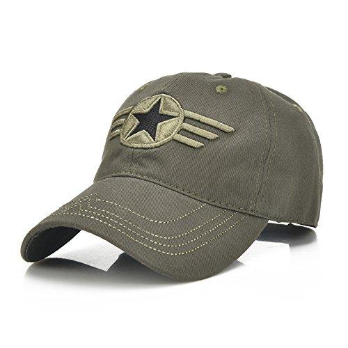 Chapeau de baseball réglable unisexe en coton de protection UV pour le sport, le camping, la pêche, les voyages, le tennis, le golf