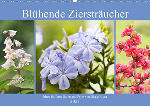 Blühende Ziersträucher (Wandkalender 2021 DIN A2 quer)