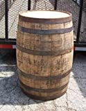 Authentic Whiskey Barrel-Freshly Dumped-Once Used