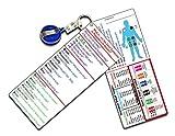 EMT Dual Pocket Guide (2 Separate Cards per Pack)
