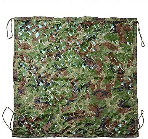 Bache,Filet de camouflage Filet de camouflage Tente de camouflage dans la jungle Réseau de camouflage à trois couches Convient pour le camping, la chasse cachée, la crème solaire, la décoration de fêt