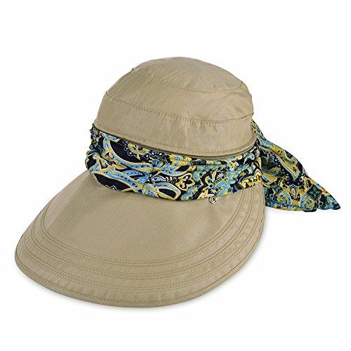 VBIGER Faltbare Sommer Sonnenhut Weiblicher Hut Baseball Kappe Frauen Anti-UV Hut