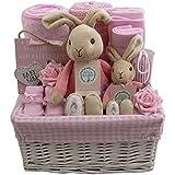 Cesta de regalo para bebé, niña o bebé, regalo para recién nacido, regalo para bebé, niña