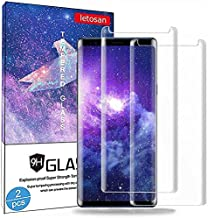 Glass Screen Protector for Samsung Galaxy S9, 3D Curved 9H Hardness Tempered Glass, High Definition, Case Friendly Bubble-Free for Galaxy S9 Glass Screen Protector
