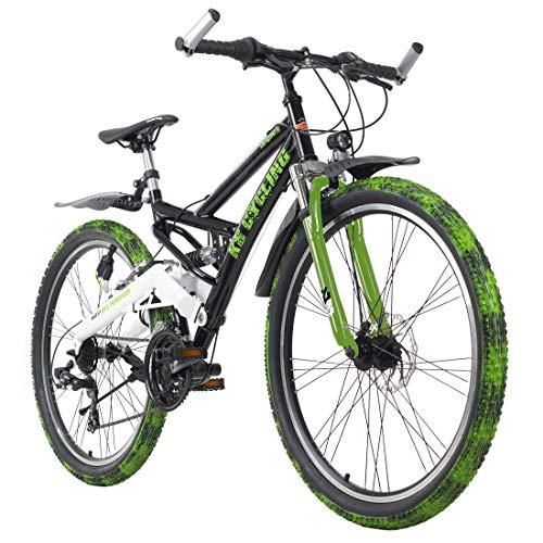 KS Cycling Mixte - Adulte VTT Fully ATB 26\