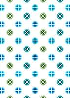 igsticker ポスター ウォールステッカー シール式ステッカー 飾り 1030×1456㎜ B0 写真 フォト 壁 インテリア おしゃれ 剥がせる wall sticker poster 008526 チェック・ボーダー 青 ブルー 水玉 模様