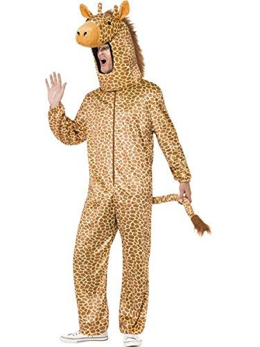 Smiffys Herren Kostüm Giraffe Overall Giraffenkostüm Karneval Fasching