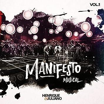 Manifesto Musical (Ao Vivo / Vol. 1)