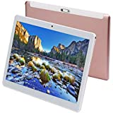 Tablet 10 Inch Android 9.0 3G Phone Tablets with 64GB Storage Dual Sim Card 5MP Camera, WiFi, Bluetooth, GPS, Octa Core, HD Touchscreen, Support 3G Phone Call (Pink)