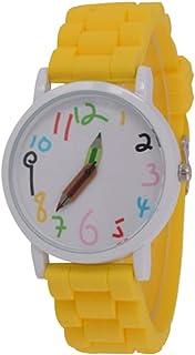 ULTECHNOVO Montres à Quartz pour Enfants Montres Mignonnes Montres-Bracelets créatives pour étudiants Montres pour Enfants...