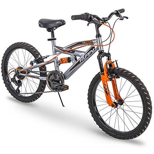 """Huffy 20"""" Kids Dual Suspension Mountain Bike, Quick Assembly Available"""