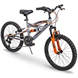 "Huffy 20"" Kids Dual Suspension Mountain Bike, Quick Assembly Available"