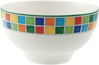 Villeroy & Boch 1013601900 Twist Alea Limone Rice Bowl, 25 oz, White/Yellow