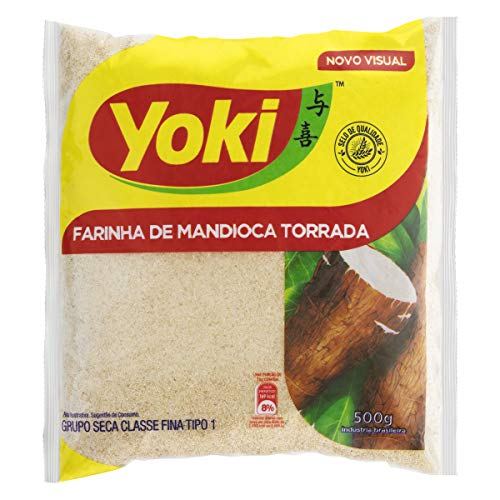 Farinha mandioca torrada - Yoki - 500gr