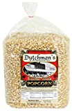 Dutchman's Popcorn - Medium Hulless White Popcorn Kernels - 4 lb Refill Bag, Old Fashioned and Non...