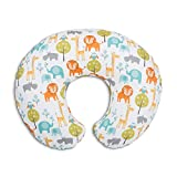 Chicco 08079902430000 Boppy Cuscino Allattamento, 0m+, Peaceful Jungle
