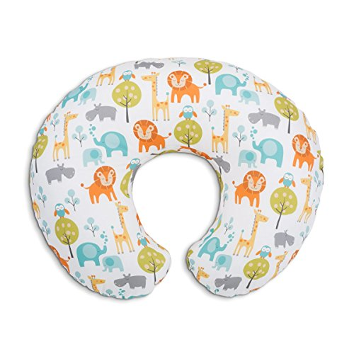 Chicco Boppy Stillkissen Bianco Peaceful Jungle