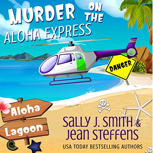 Murder on the Aloha Express cover art