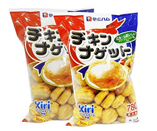 チキンナゲット キリクリームチーズ入り 国内加工 780g 伊藤ハム (2袋)【要冷蔵】
