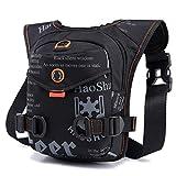 Outgeek Drop Leg Bag Fashion Multipurpose Portable Waist Pack for Outdoor Cycling