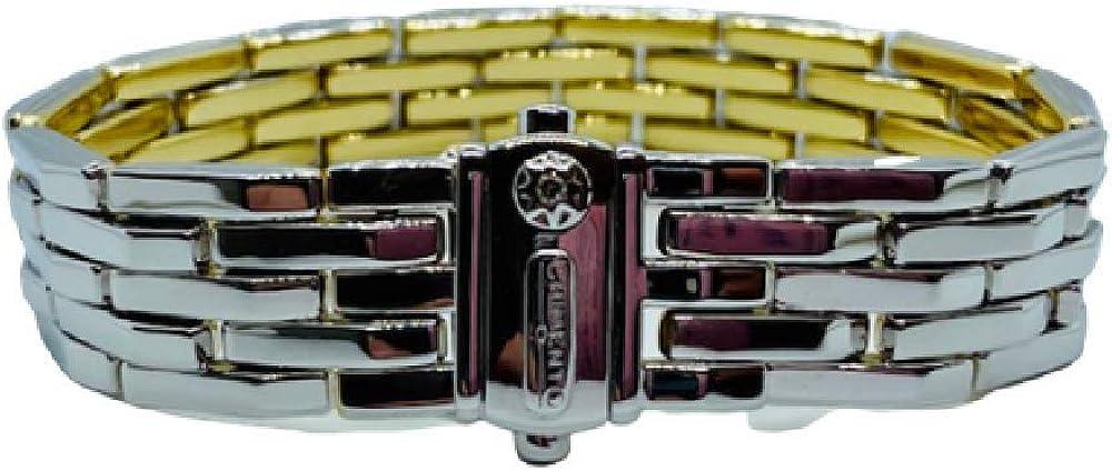 Chimento,bracciale per donna in oro bianco e giallo18kt(37,1 gr) e diamante 0,03 ct 1B00247ZBA185