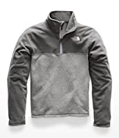 The North Face Boy's Glacier Quarter Zip - Turkish Sea - L