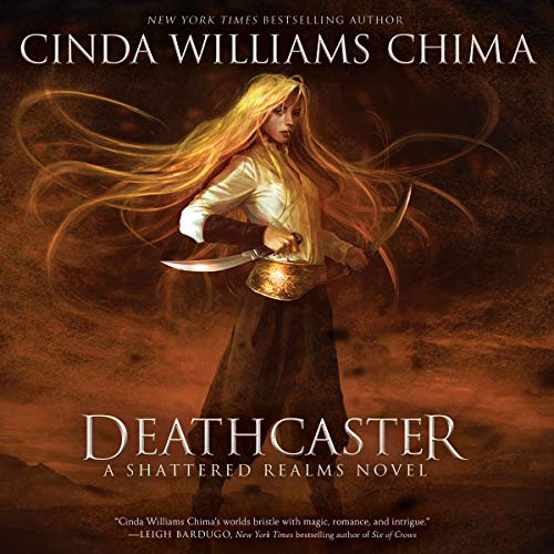 Deathcaster audiobook cover art