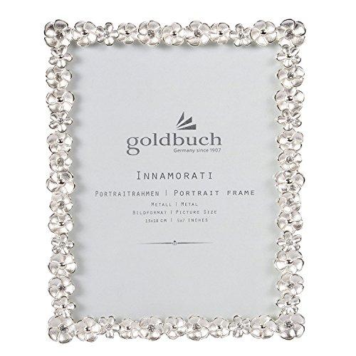 Goldbuch Innamorati 960323 - Cornice per Foto, 13 x 18 cm, in Metallo, Colore: Argento