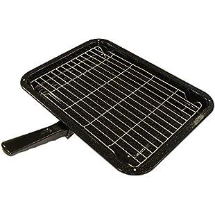 Durable Universal Oven Cooker Grill Pan Rack & Detachable Handle 380 x 280mm:Lidl-pl
