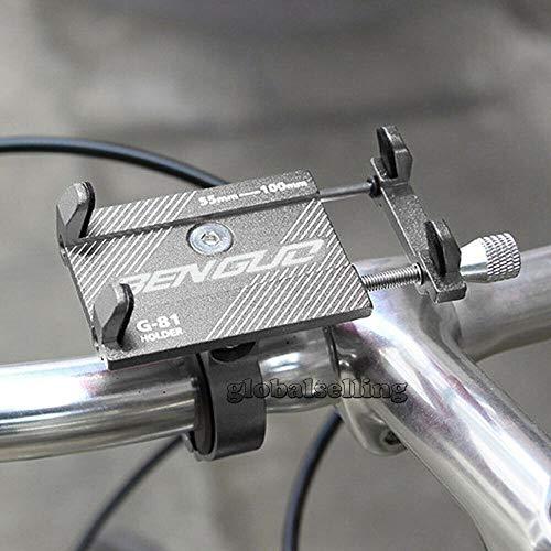 JLWDD Handyhalterung Fahrrad Abnehmbare OMERIL 360° Drehbare Motorrad Handyhalterung Universal für Smartphone Zoll Handys