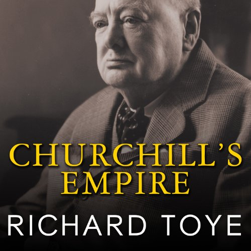 Churchill's Empire audiobook cover art