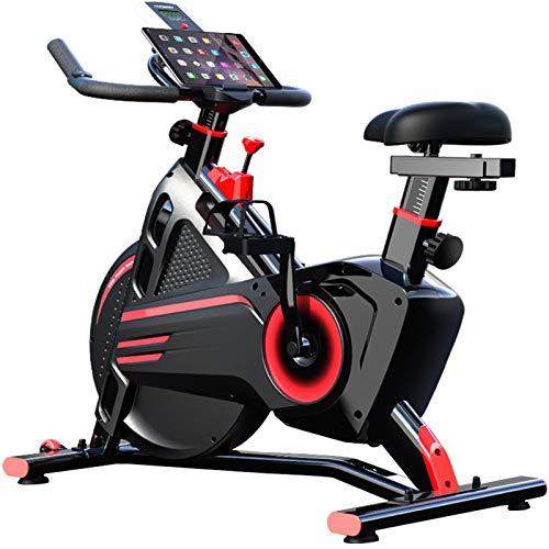LJJ Magnética Spinning Control de Bicicleta Estática, la Correa de Transmisión Inicio/Uso de Gimnasio Mudo Estupendo Bicicleta de Spinning