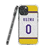 iPhone 12 Pro Max Case,Basketball Legend 021 iPhone 12 Pro Max Cases for Men Women Fan,Luxury Design Pattern Back+Soft Silicone TPU Air Pressure Technology Shock Protective Case for iPhone 12 Pro Max