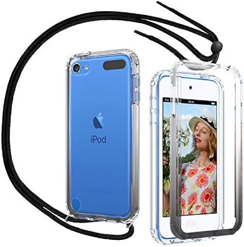 iPod Touch 7 Case iPod Touch 6 Case iPod Touch 5 Case with Neck Cord Lanyard Strap OWKEY Full product image