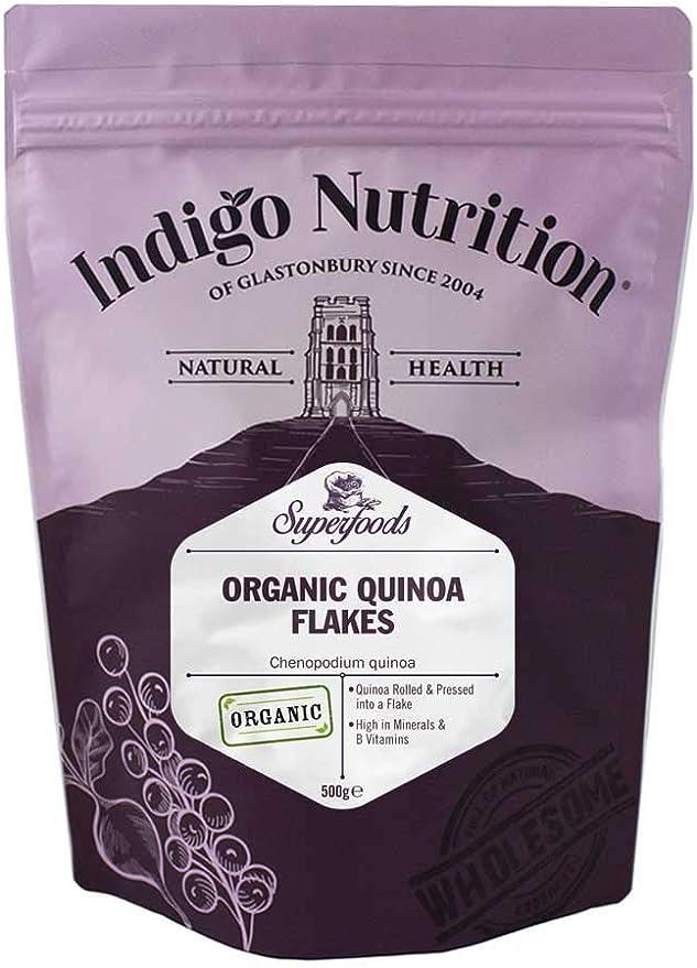 Indigo Herbs Copos de Quinoa Orgánica 1kg